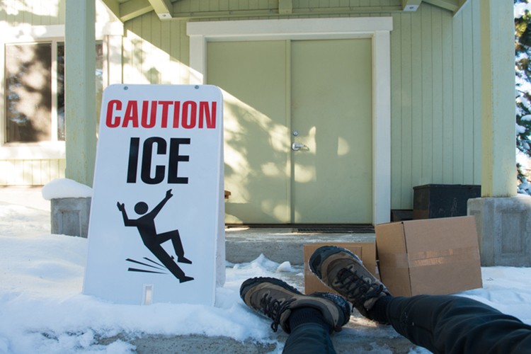 caution ice